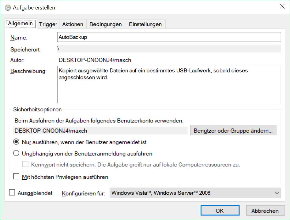 datei programm zuordnen windows 10